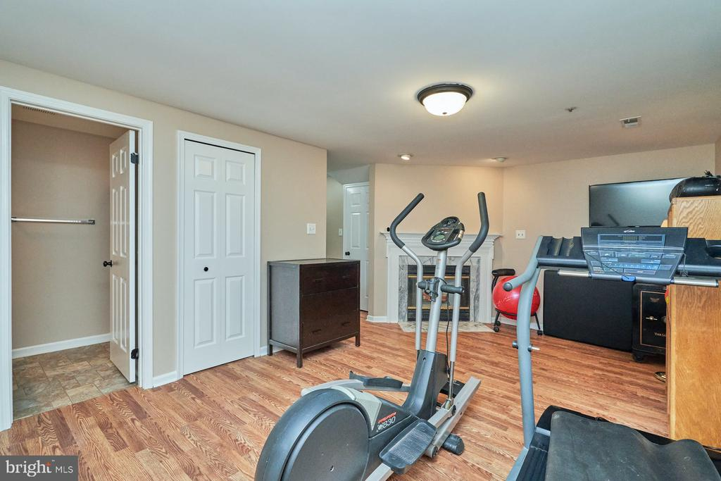 Lower level space for recreation or work out - 7937 BLUE GRAY CIR, MANASSAS