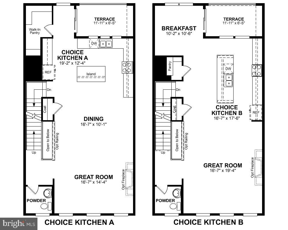 Second Level Floor Plan (Choices) - 3456 MEADOWLARK GLEN RD, DUMFRIES