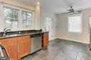 Kitchen Windows Overlooks Private Yard - 2029 S OAKLAND ST, ARLINGTON