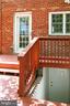 New Rear Door and Improved Stairway - 2029 S OAKLAND ST, ARLINGTON