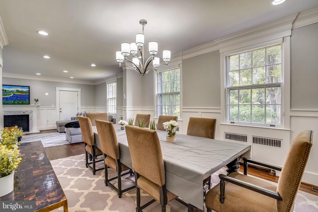 Large dining room - 900 MCCENEY AVE, SILVER SPRING