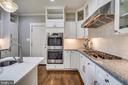 Plenty of cabinet space, tile backsplash - 900 MCCENEY AVE, SILVER SPRING