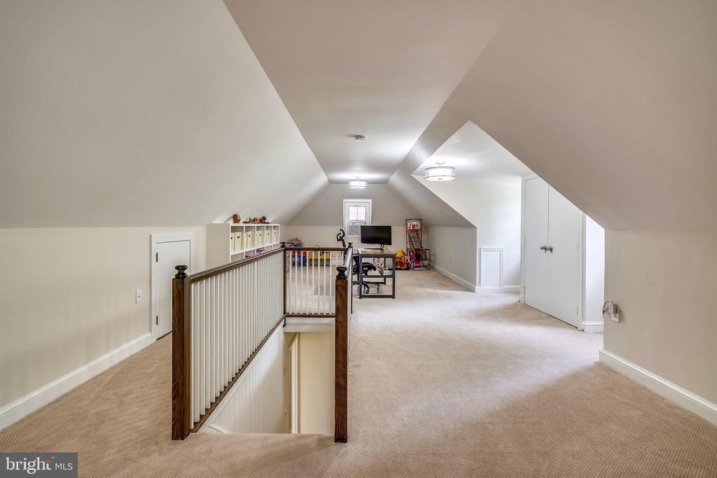 Expansive, upper level loft - 900 MCCENEY AVE, SILVER SPRING