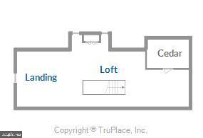 Upper level 2 floorplan - 900 MCCENEY AVE, SILVER SPRING