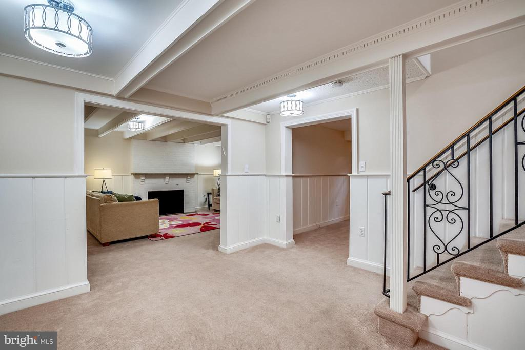 Lower level entry hall - 900 MCCENEY AVE, SILVER SPRING