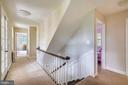 Upper level 1 hallway opening to the veranda - 900 MCCENEY AVE, SILVER SPRING