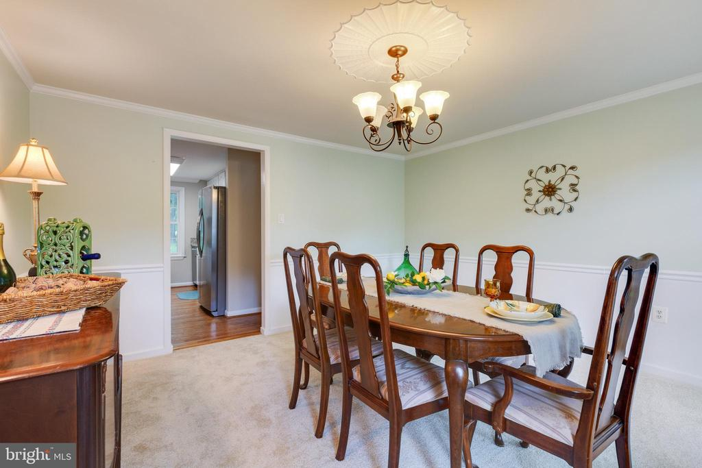 Dining Room - 4290 CANDLESTICK CT, DUMFRIES
