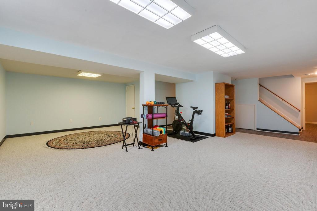 Large Rec Room - 4290 CANDLESTICK CT, DUMFRIES