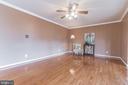 Beautiful hardwood floors - 133 NORTHAMPTON BLVD, STAFFORD