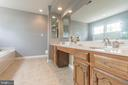 Large vanity with dual sinks - 133 NORTHAMPTON BLVD, STAFFORD