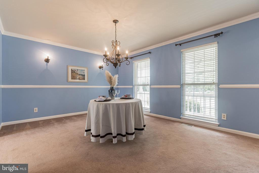 Bring your large dining table to fill this space - 133 NORTHAMPTON BLVD, STAFFORD