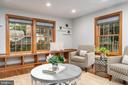 Family room with hardwood floors - 2740 S TROY ST, ARLINGTON