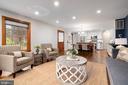 Open floor plan, perfect for entertaining! - 2740 S TROY ST, ARLINGTON