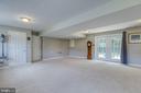 Finished basement - 7420 LAURA LN, FREDERICKSBURG