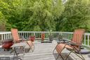 Deck off dining room - 7420 LAURA LN, FREDERICKSBURG