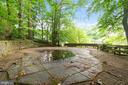 In-ground pool/pool deck - 8531 W HOWELL RD, BETHESDA