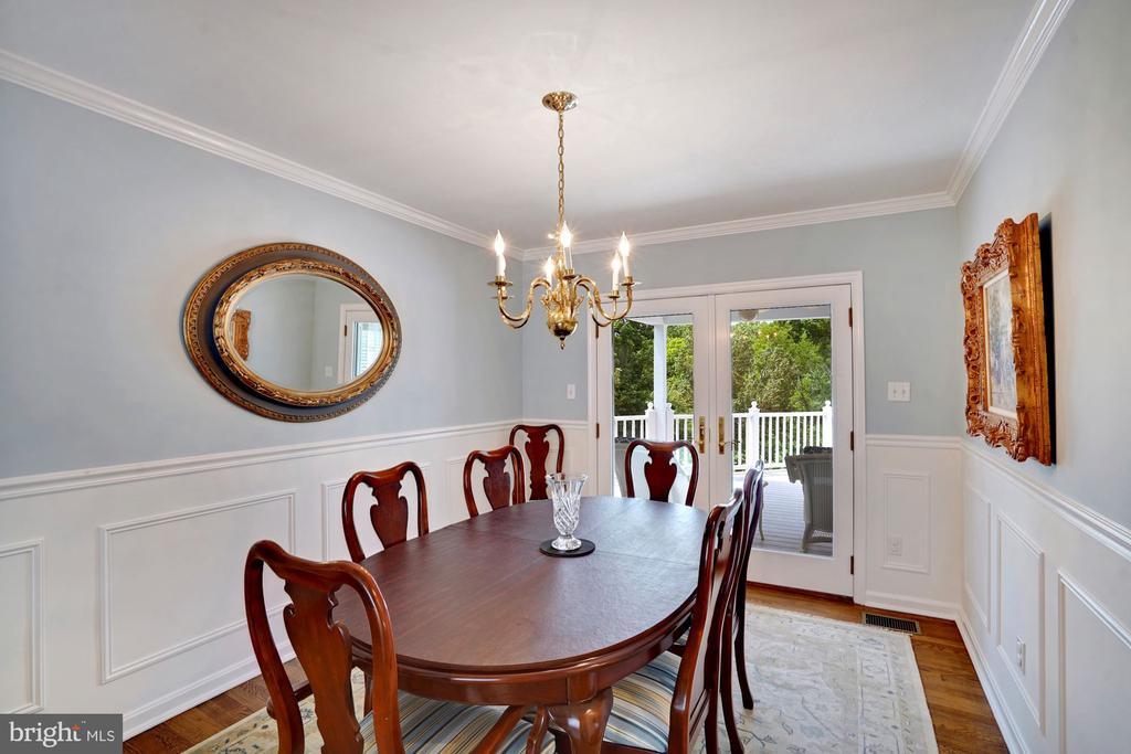 Main Level Dining Room - 10910 BELMONT BLVD, LORTON
