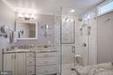 Primary Bathroom - 10910 BELMONT BLVD, LORTON