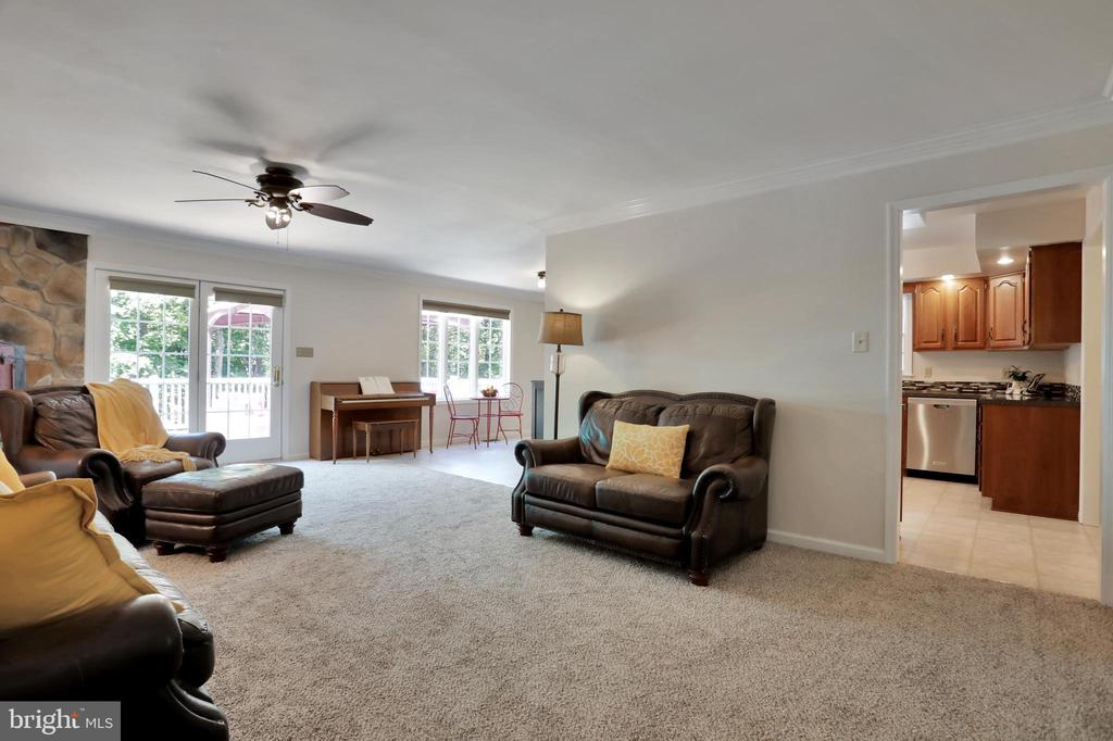 Living Room - 11302 GAMBRILL PARK RD, FREDERICK