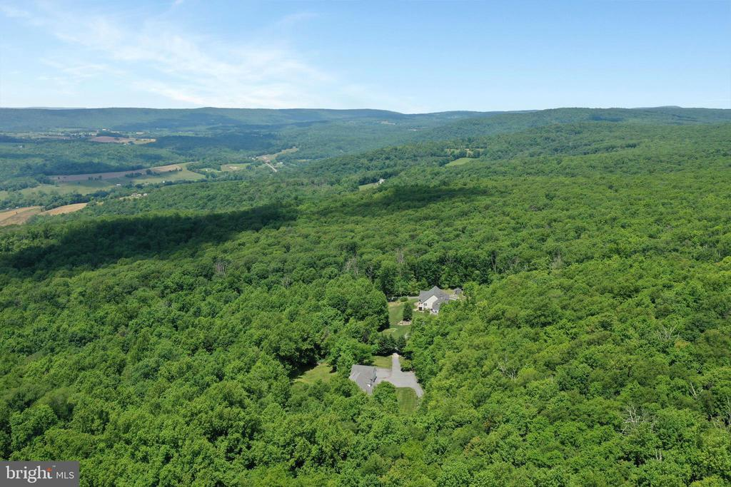 Aerial View - 11302 GAMBRILL PARK RD, FREDERICK