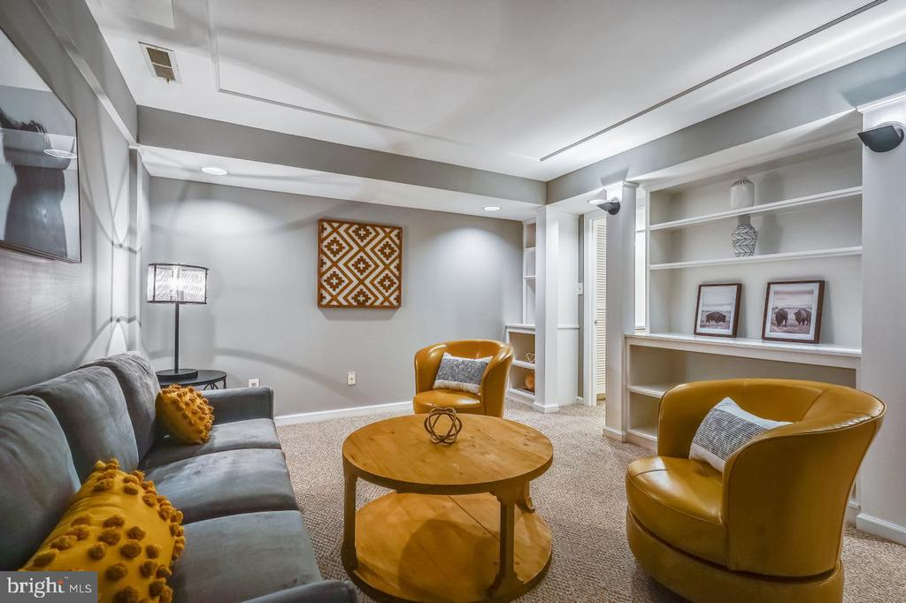 Great space for a TV or exercise room - 2564-A S ARLINGTON MILL DR S #5, ARLINGTON