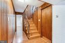 Lower level hall - 6801 GRANBY ST, BETHESDA