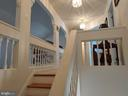 Custom staircase and archways. - 745 & 747 MERRIMANS LN, WINCHESTER