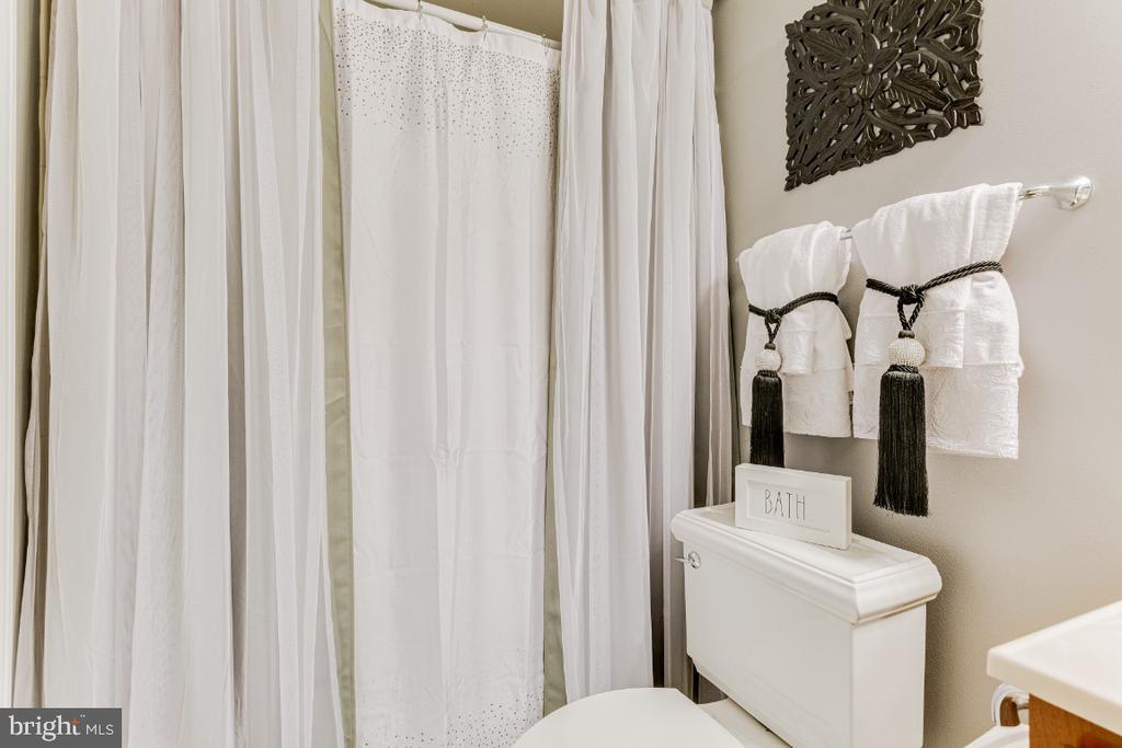 Lower Level Bathroom - 4917 TROTTERS GLEN DR, UPPER MARLBORO