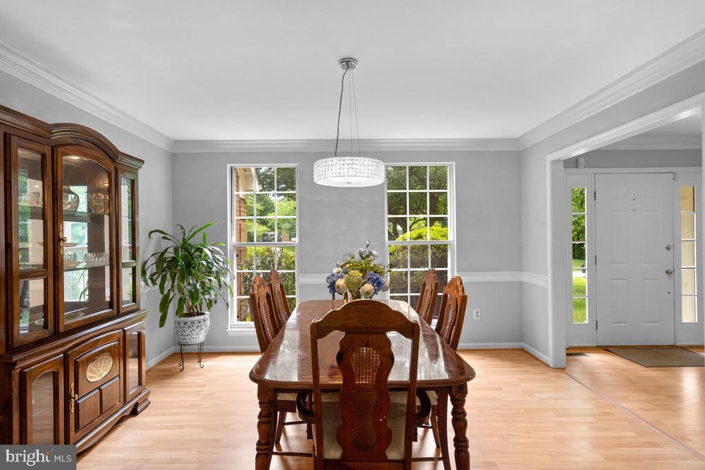 Dining room - 6425 STREAM VALLEY WAY, GAITHERSBURG