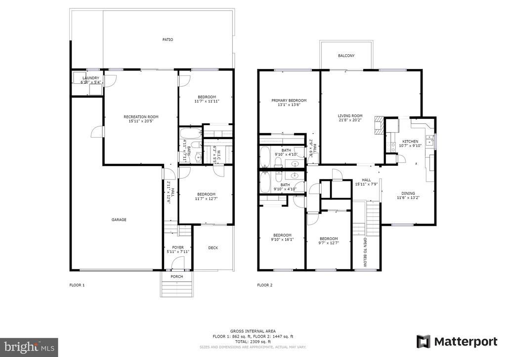 Floor Plan - 11300 LINKS CT, RESTON