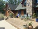 Rear Deck Leads Up To Studio Apartment  Balcony - 23039 RAPIDAN FARMS DR, LIGNUM