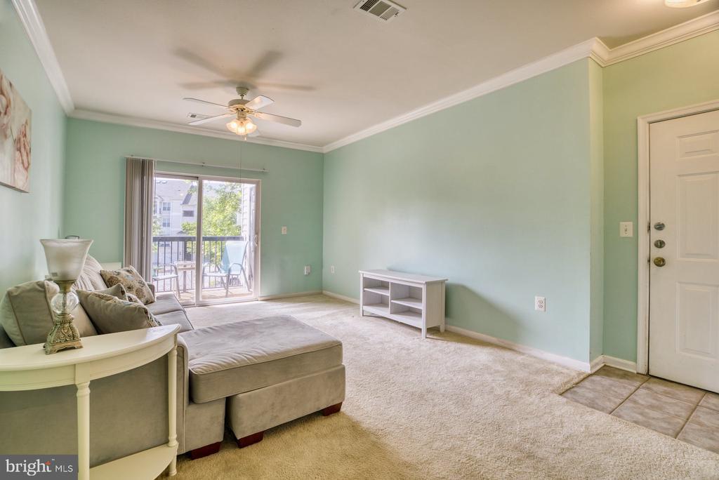 Living Room - 11381 ARISTOTLE DR #10-210, FAIRFAX