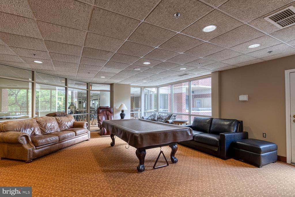 Library/lounge - 1276 N WAYNE ST #PH07, ARLINGTON