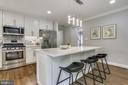 Loads of cabinetry and quartz countertops - 1948 SEMINARY RD, SILVER SPRING