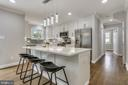 Beautifully updated kitchen - 1948 SEMINARY RD, SILVER SPRING
