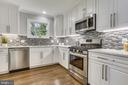 Stainless appliances w/ gas range - 1948 SEMINARY RD, SILVER SPRING