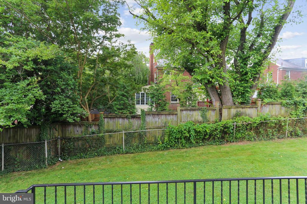 Lovely rear yard - 1948 SEMINARY RD, SILVER SPRING