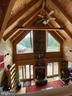Gorgeous Vaulted Family Room w/ Beamed Ceilings! - 23039 RAPIDAN FARMS DR, LIGNUM