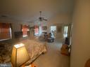 Master w view see thru fireplace sitting room - 6424 TINKLING SPRINGS CT, MANASSAS