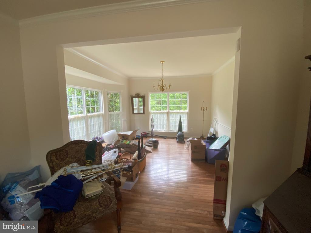 Formal living room and dining room - 6424 TINKLING SPRINGS CT, MANASSAS