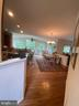 View from front hall to sunroom - 6424 TINKLING SPRINGS CT, MANASSAS