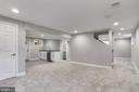 Amazing lower level with wet bar - 1948 SEMINARY RD, SILVER SPRING