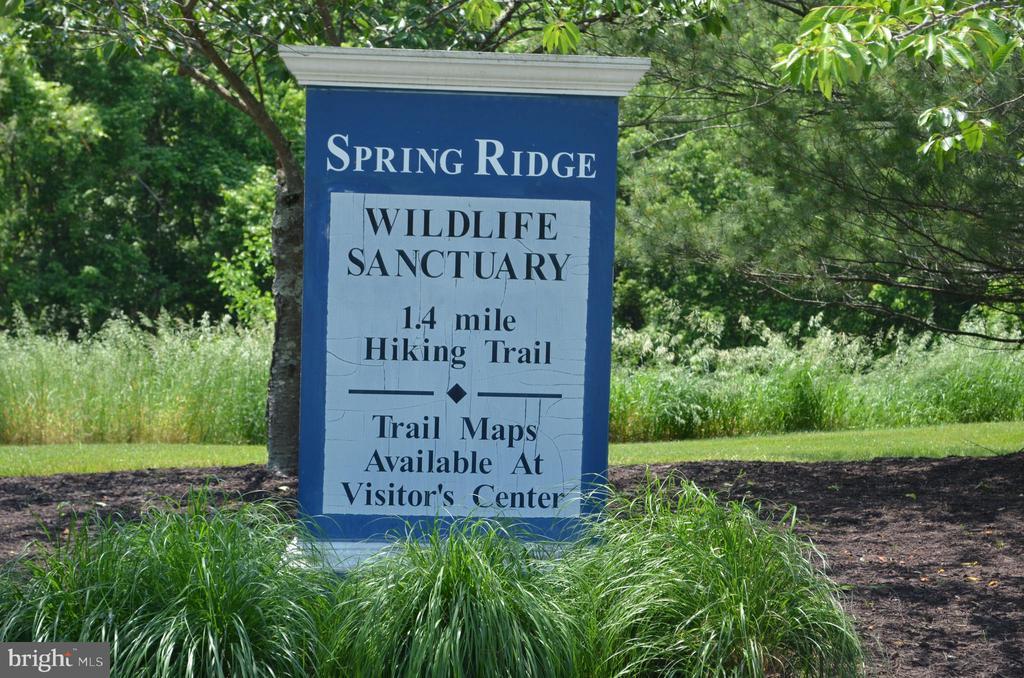 Enjoy a hike thru the peaceful Wildlife Sanctuary - 6304 SPRING FOREST RD, FREDERICK