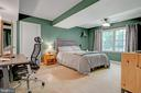 finished basement bedroom - 2415 BLACK CAP LN, RESTON