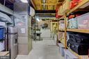 basement storage and laundry room - 2415 BLACK CAP LN, RESTON