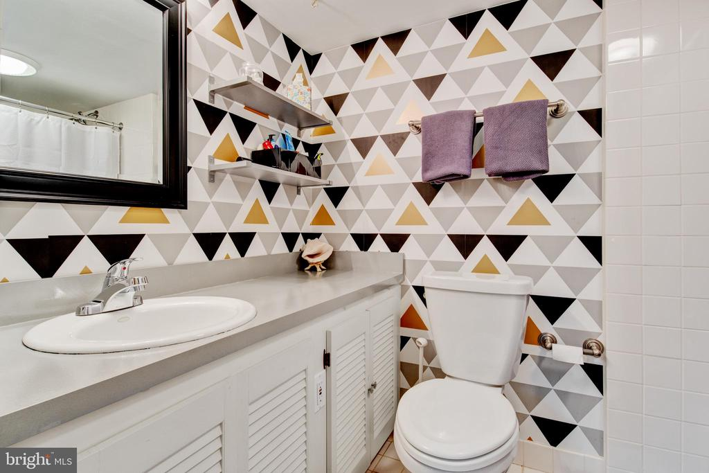 finished basement full bath - 2415 BLACK CAP LN, RESTON