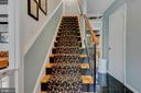 stairs to top floor - 2415 BLACK CAP LN, RESTON
