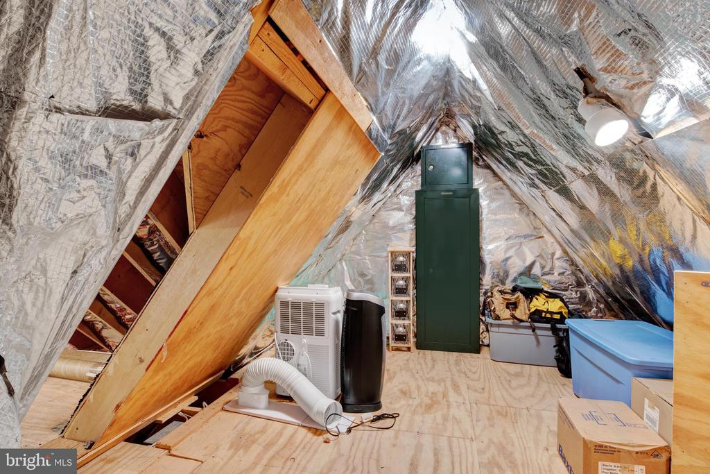 secret room with tons of storage - 2415 BLACK CAP LN, RESTON