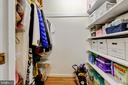 ample closet storage - 2415 BLACK CAP LN, RESTON