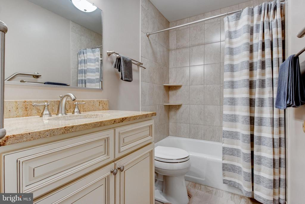 master bath with chic cabinets - 2415 BLACK CAP LN, RESTON